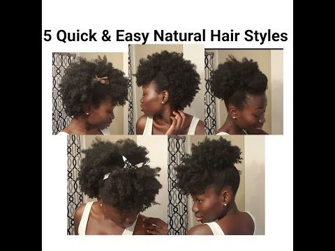 Protective Hairstyles For Natural Hair Youtube
