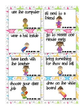 Superhero Behavior Coupons - Positive Reinforcement Reward