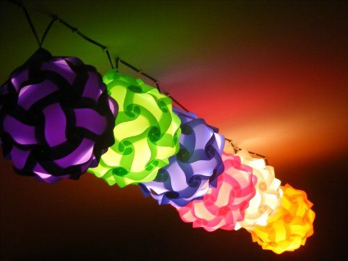 27 best images about Puzzle lamp on Pinterest | Ceiling ...