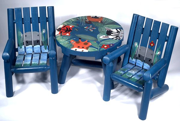 Children's Hand-Painted Furniture