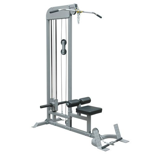 A combination #machine like this one provides great upper #body #workout and strength building. Do lat pulldowns and low row combo with this machine. Build your back, pectorals, deltoids, and biceps through use of this machine.
