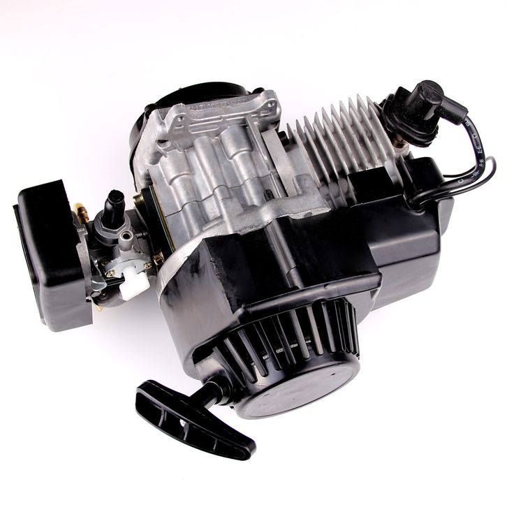 49cc 2-Stroke New Motor Engine Pocket Mini Bike Scooter ATV H EN02