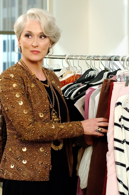 Hoops again - The Devil Wears Prada (2006). Meryl Streep as Miranda Priestly