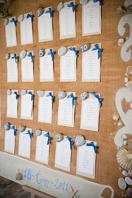 Wedding Tableau| Tableau Marriage|Sea Tableau Ideas #wedding #weddingtableau #Seatableau #weddingtableauideas http://elisaweddingdream.blogspot.it/2011/09/real-weddings-daniela-alessio.html