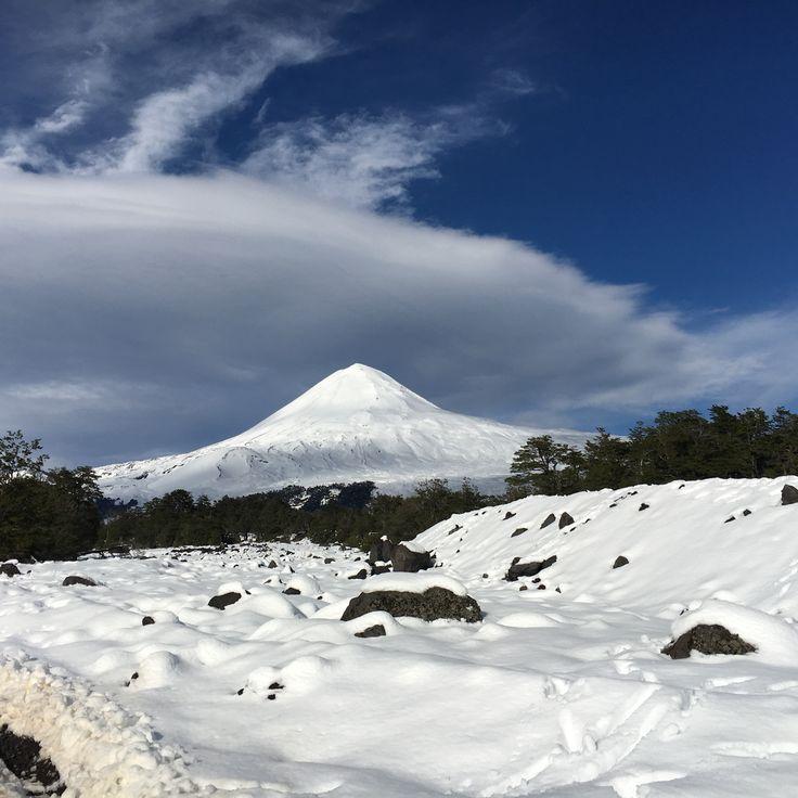 Camino a Conguillio, Volcán Llaima