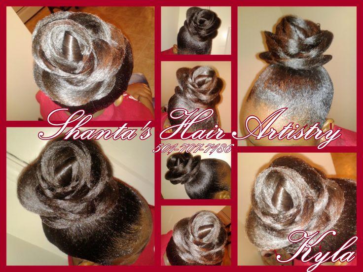 Little Rock Arkansas Hairstylist Flower Hair Updo Hairstyles Unique Wedding