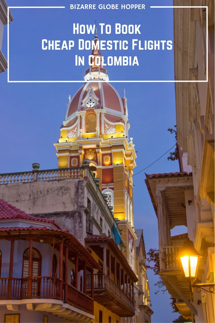 Book domestic flights in Colombia at dirt cheap local prices!: