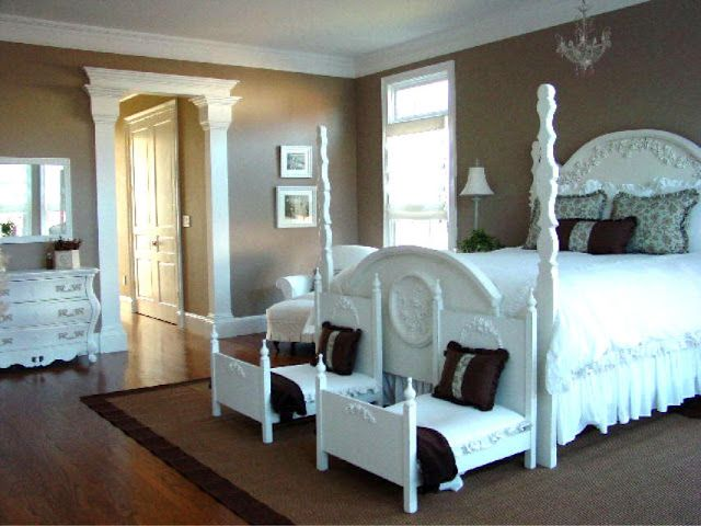 "classy bedroom even if this one is for a little ""big"" girl"