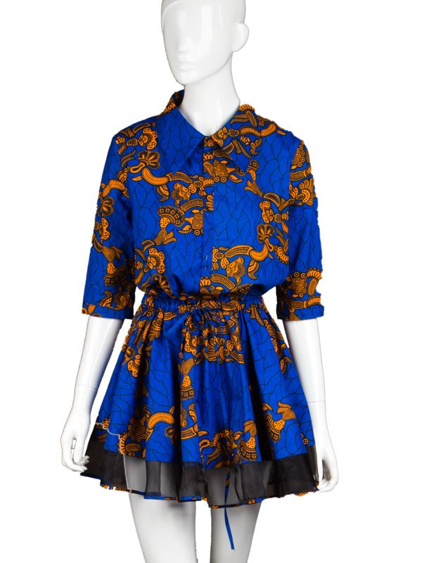 African Fabrics | Textiles | Lace | Real Wax | African Dresses at ...