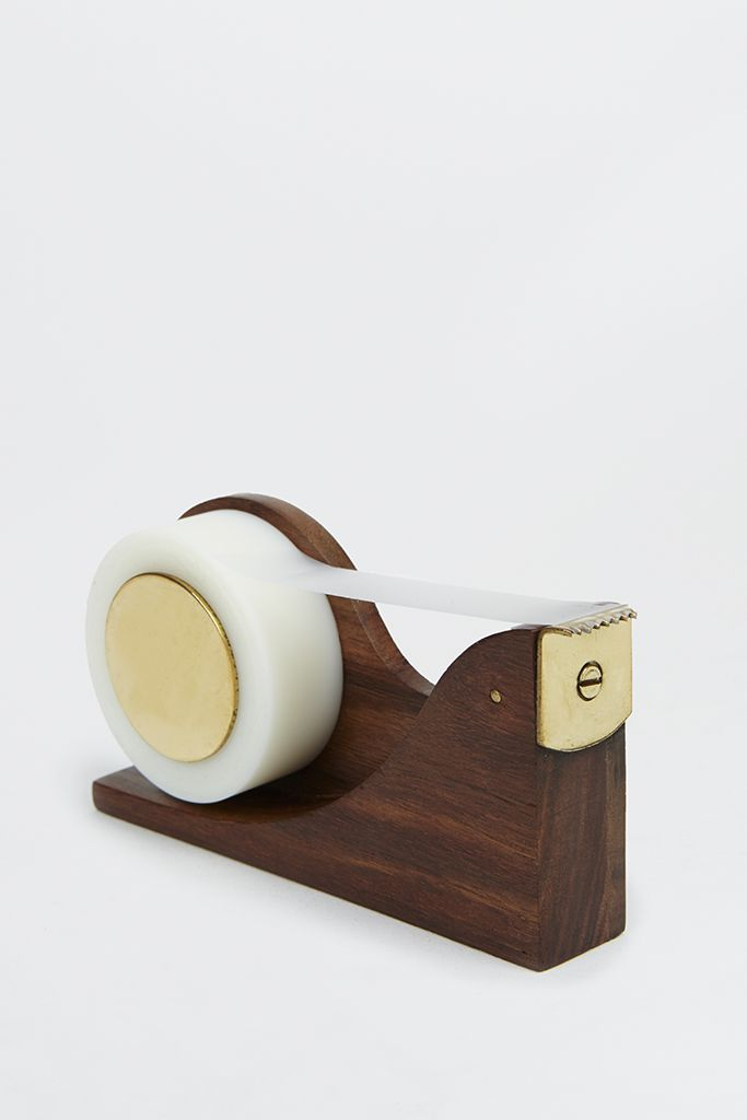 Wooden Tape Dispenser |