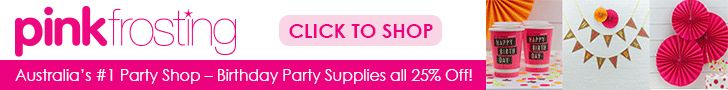 AFFILIATE MARKETING COLLECTIONS IN BLOG: Pink Frosting - Party Supplies Australia Online.
