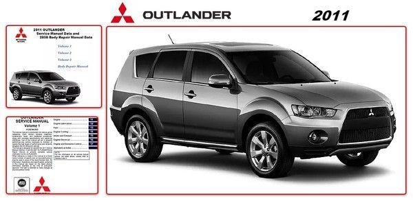 Mitsubishi Outlander 2011 Repair Manual Mobil