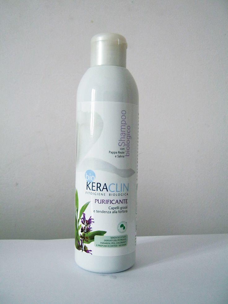 Aboca: BIO KERACLIN - shampoo purificante capelli grassi con o senza forfora 200ml - Blog di SILVIADGDESIGN