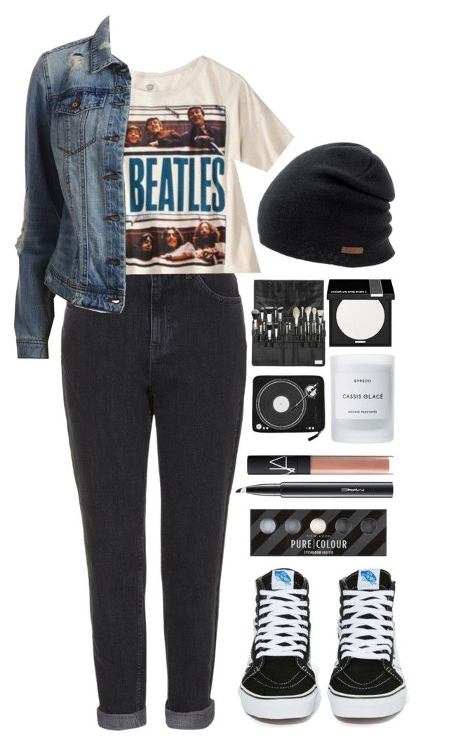"""Here Comes The Sun"" by ellac9914 ❤ liked on Polyvore featuring Topshop, Coal, Vans, VILA, MAKE UP FOR EVER, Byredo, NARS Cosmetics, MAC Cosmetics, casual and school"