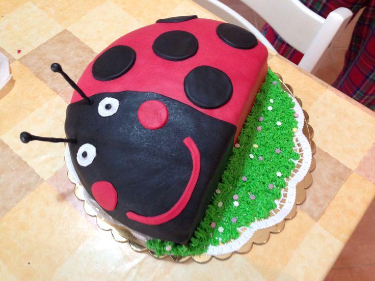 Gaston the Ladybird birthday cake!