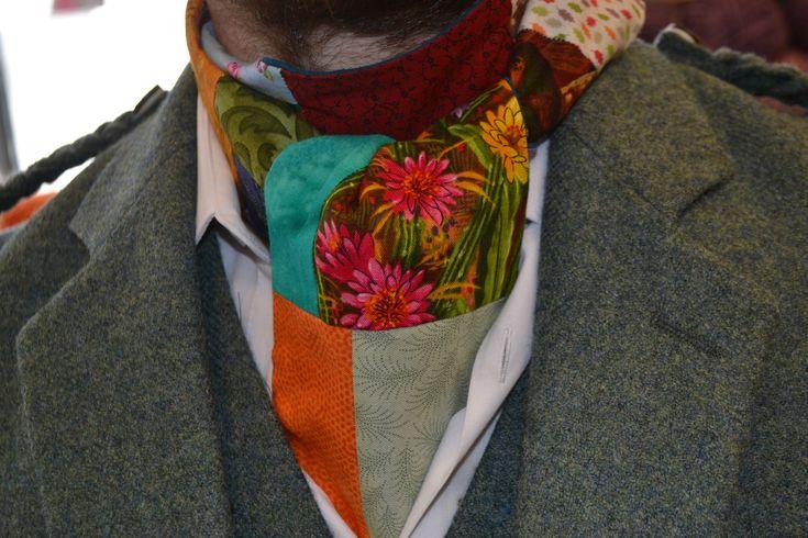 mitchell's birthday cravat :)