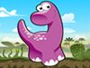 Baby Dino is an awesome and cute game.Ride baby dino and cross the path without falling down. Be stable and stay away from crash to finish the level. Gather bananas to score points. Have Fun!