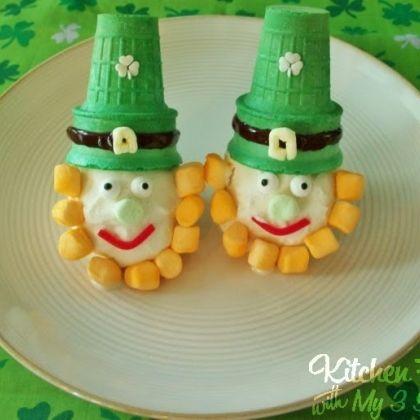 St. Patrick's Day-food idea-Leprechaun Ice Cream