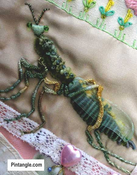 Best images about embroidery animals bugs insects