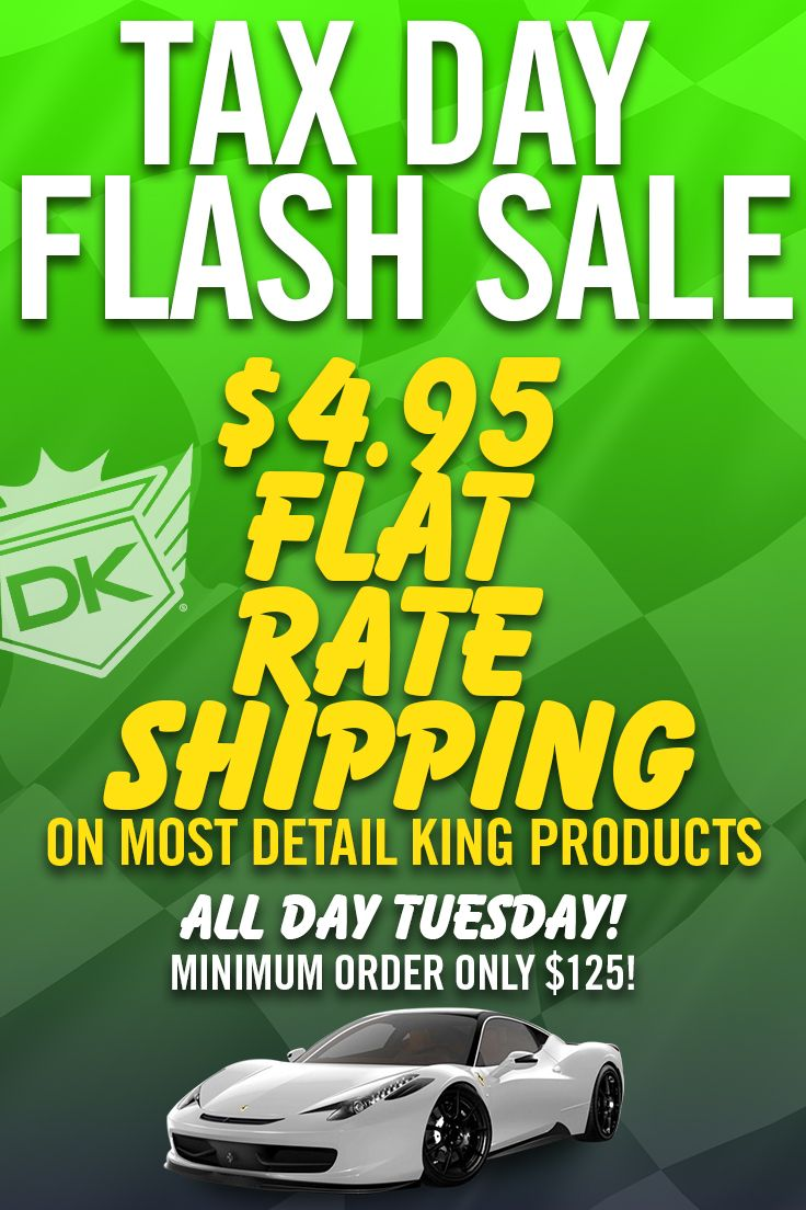 Auto Detailing Supplies And Equipment With Images Flash Sale Detail King Tax Day