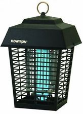 Electronic Insect Killer 1/2 Acre Coverage Non Clogging Grid Uses 15 Watt Bulb