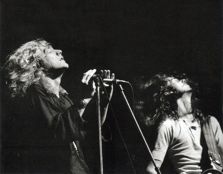 When the music moves you..Led Zeppelin Robert Plant. Jimmy Page