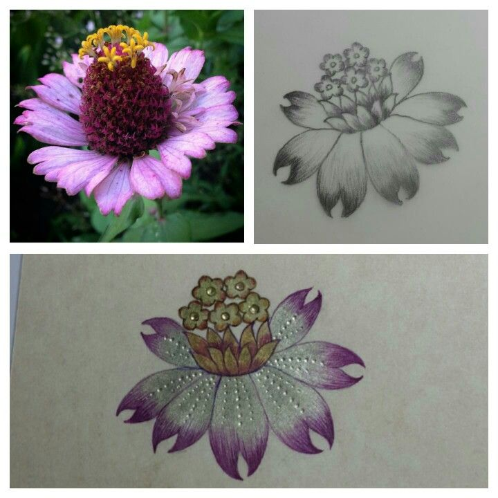 Derya Soyyiğit Çiçek stilizesi