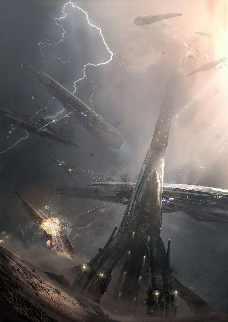 the destruction of the ark in Skywok city