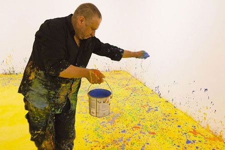 Leon Tarasewicz, artist at work on ArtStack #leon-tarasewicz #art