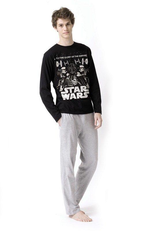 PIJAMA Star Wars para adulto con personajes del Imperio: Darth Vader, soldados y naves. 100% Algodón. Envío 24/48h.
