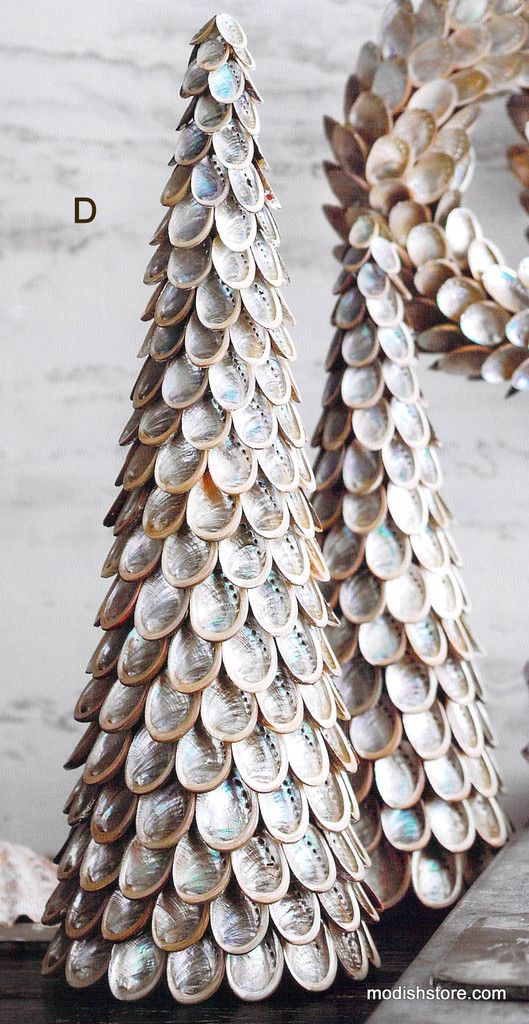 Roost Abalone Shell Artificial Trees Amp Wreaths Cool