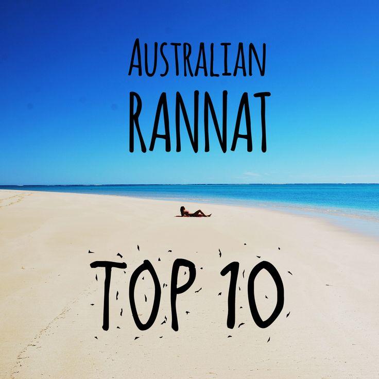 Ei ihme, että Australian rantoja monesti sanotaan maailman parhaiksi. Tässä meidän näkemys rannikon parhaista mestoista levyttää rannalla ja pulikoida aalloissa. | Muuttolintu.com #matkailu #loma #reissu #matkustaminen #reissaaminen