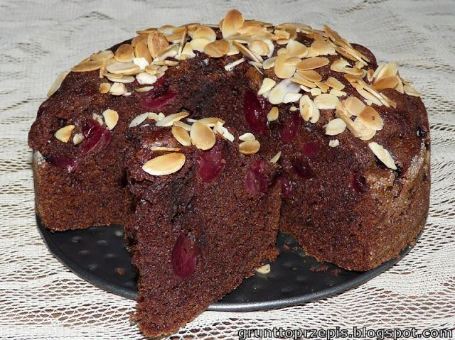 GRUNT TO PRZEPIS!: Czekoladowe ciasto z czereśniami