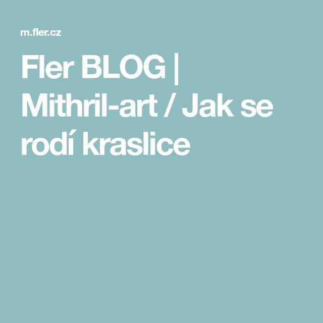 Fler BLOG | Mithril-art / Jak se rodí kraslice