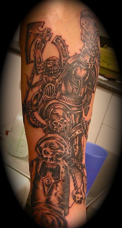 Memorial tattoos egodesigns - Warhammer Space Marine By Cairnscitytattoo On Deviantart
