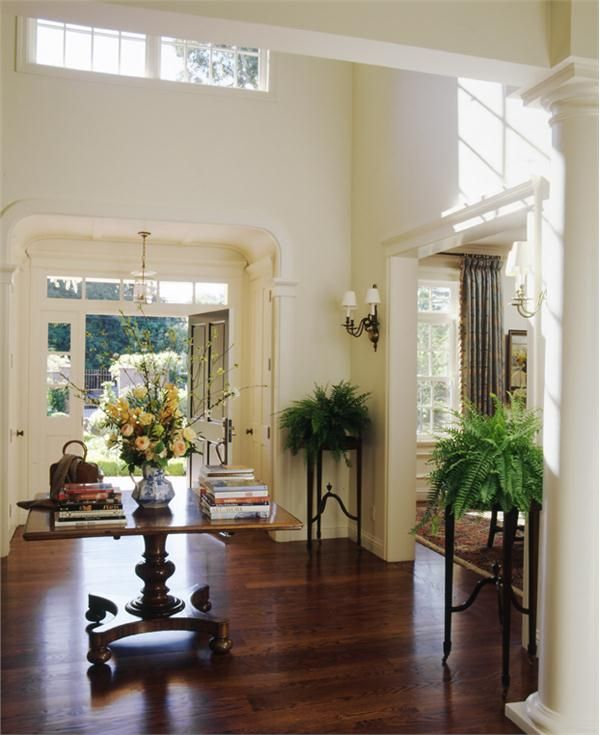 Difference Between Foyer And Entry : Best in between spaces halls entries more images