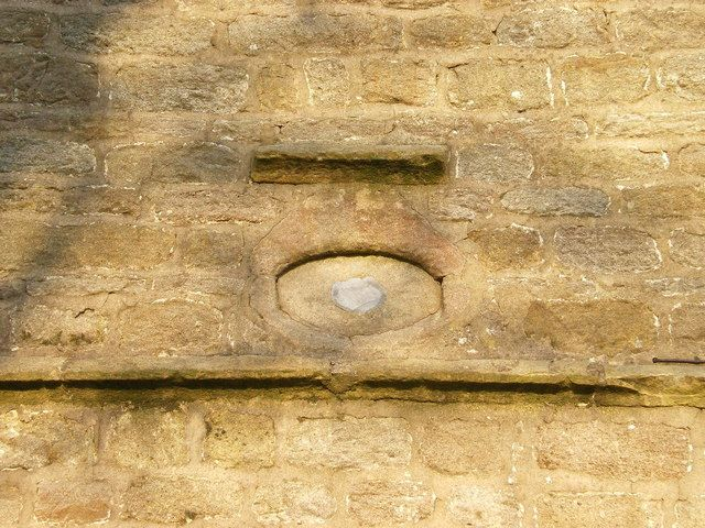 The Eye of God, St. Mary's Church, Newchurch in Pendle.