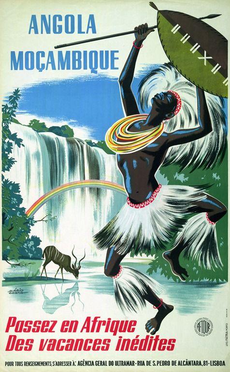 Leuke fonts, leuke kleuren maar niet zo typisch afrikaans (vind ik) , leuke met die dansende persoon, en het diertje op de achtergrond.