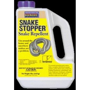 This site has a lot of remedies for keeping snakes off your property.