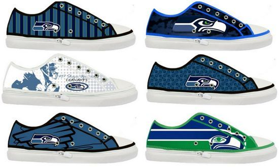 Queen Bee Coupons » Seattle Seahawks Women's Shoes – $45.79, plus shipping on Amazon...Wowwee, I will take the green ones