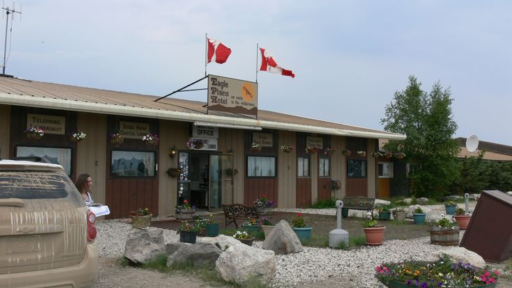The only restaurant on  Dempster Highway