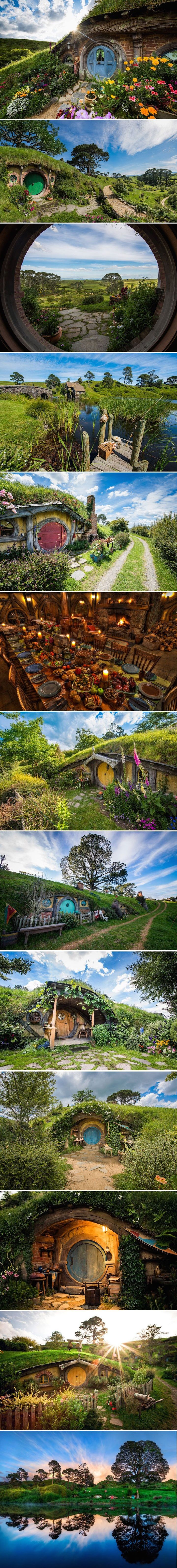 Hobbiton Movie Set is a Real Life Version of Middle-Earth - by Trey Ratcliff