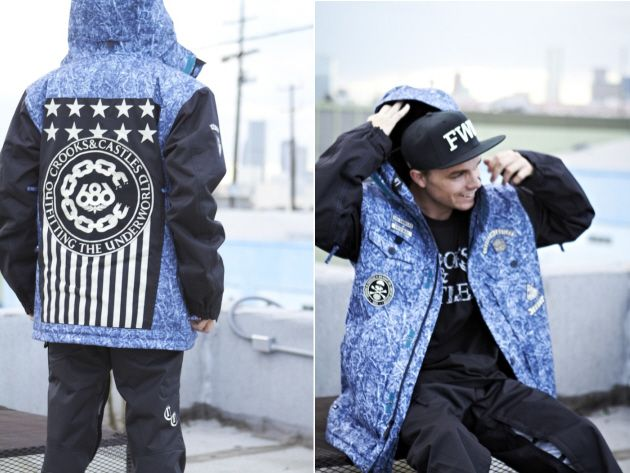 Lookbook Crooks & Castles x 686 (Winter 2012)