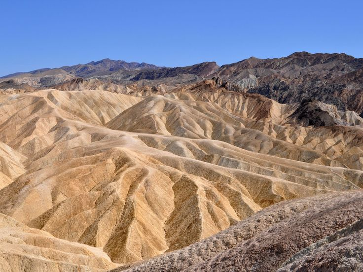 Dramatic Death Valley: A clear day in Death Valley National Park reveals the stark beauty of one of the hottest places on Earth. The photo w...