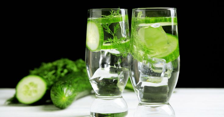 Use cucumber water during a detox program and you'll be helping the body out even more. It also works well as an alcohol detox. Read more.