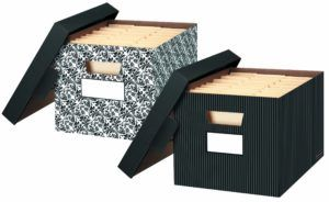 Extra Large Decorative Cardboard Storage Boxes With Lids