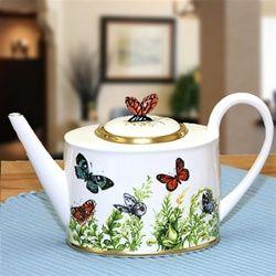 Butterfly Garden teapot