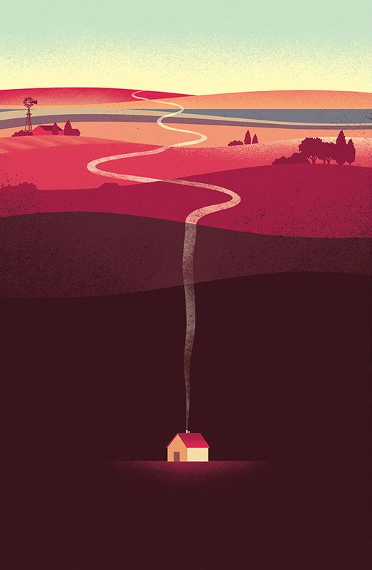 DAVIDE BONAZZI ILLUSTRATION: AMARONE