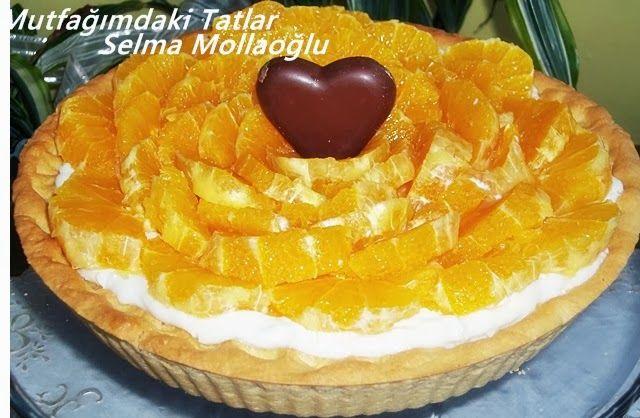 PORTAKALLI TART      Portakal bana göre kış aylarının en lezzetli ve vitaminli me...