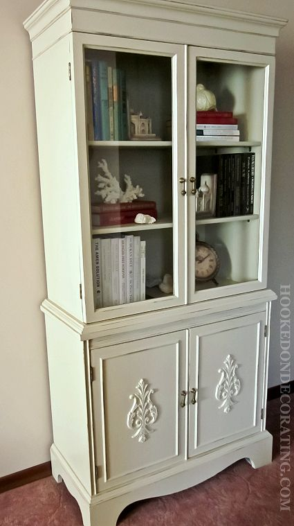 99 Best Images About China Cabinet Makeovers On Pinterest